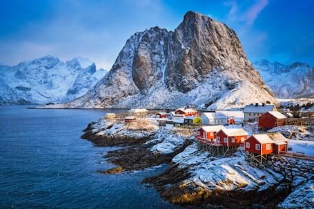 norvegia-lofoten-village